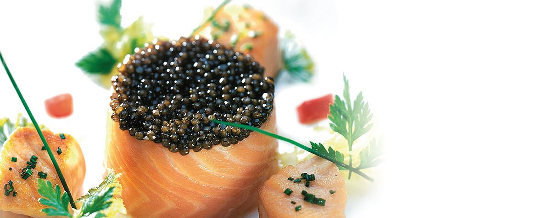 Lachs mit Kaviar - Trebla