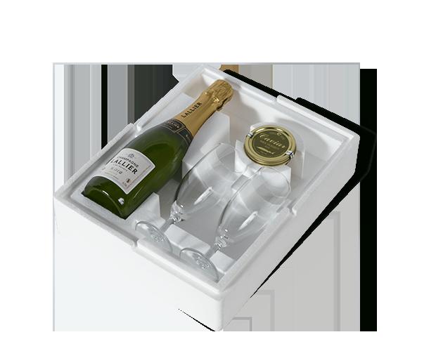 Champagne Abel Lepitre Schachtel offen